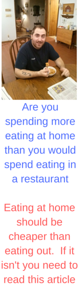 Save money eat at home