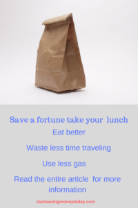take your lunch save money