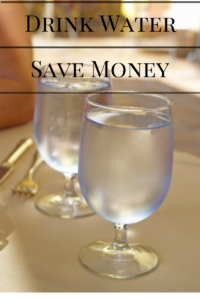 Save money drink water