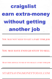 You may not need to get a part time job