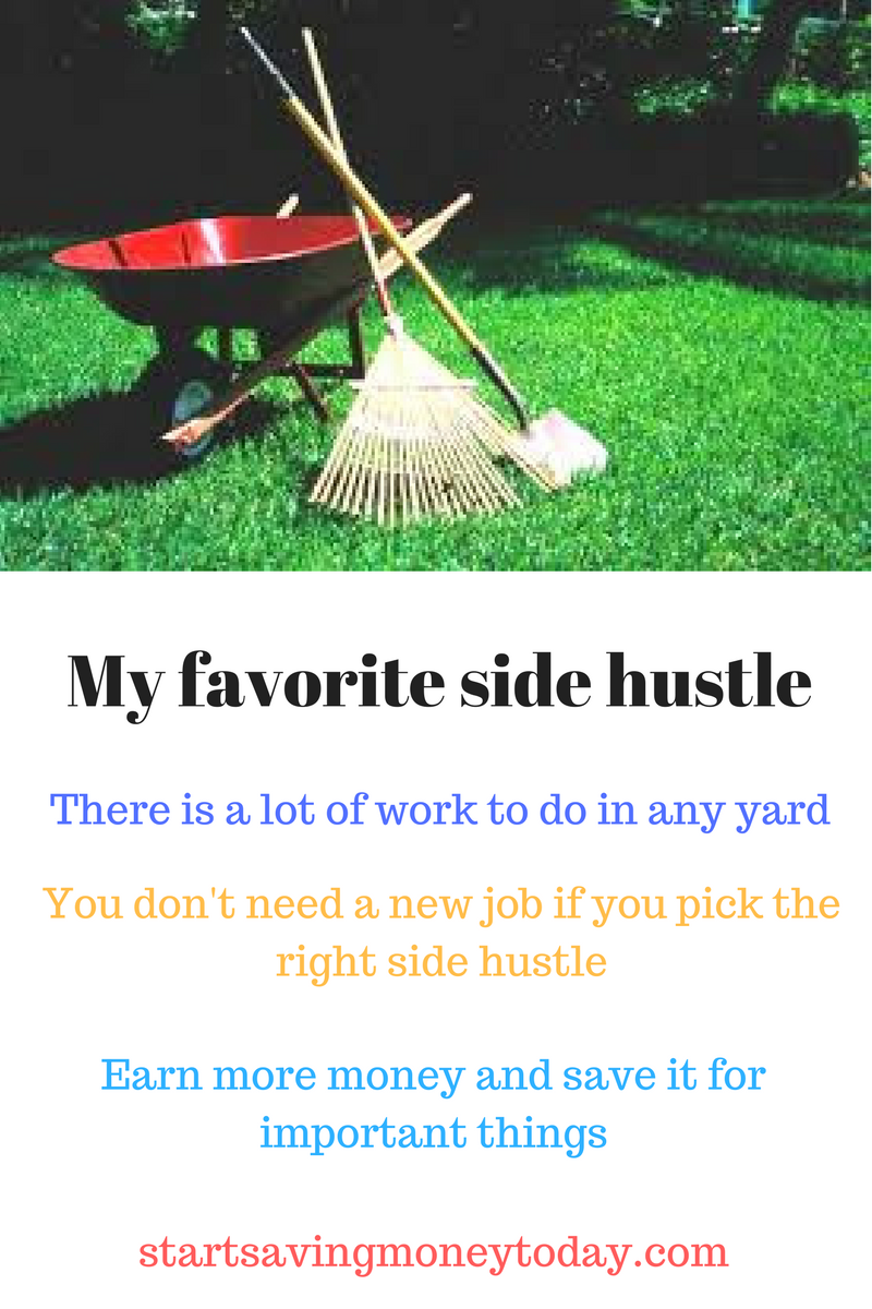 Earn Extra Money Doing Yard Work The Art Of Frugal Living