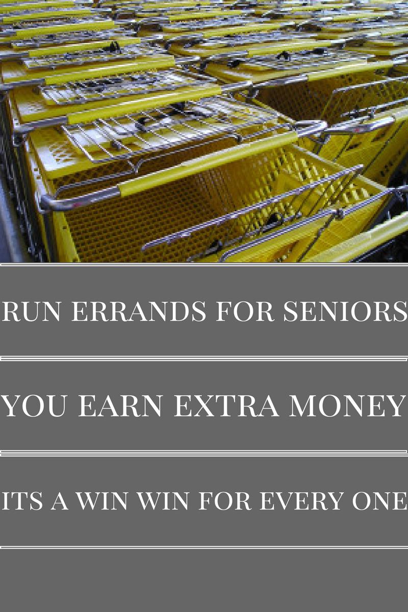 Earn Extra Money Running Errands For Seniors