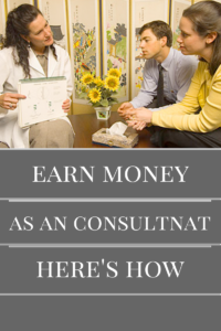 Earn Money consulting