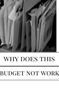 budget not working