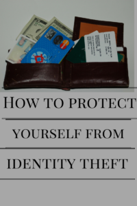 identity theft is a huge problem