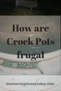 crock pot frugal