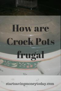 crock pot frugal