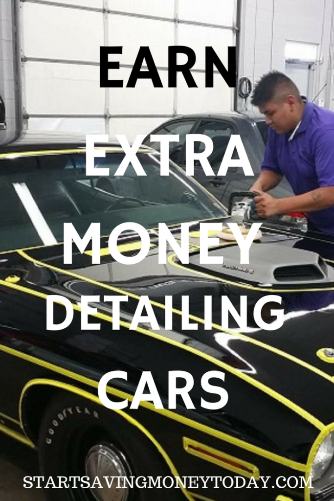 earn money detailing cars