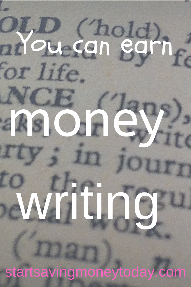 Get paid to write Earn more money - The Art of Frugal Living